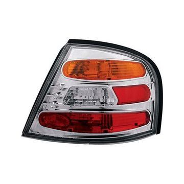 IPCW CWT-CE1109CA Crystal Eyes Crystal Amber/Clear/Red Tail Lamp - Pair
