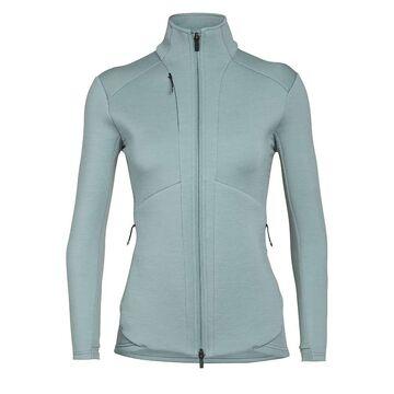 Icebreaker Women's Lucca LS Zip Jacket - Large - Hydro
