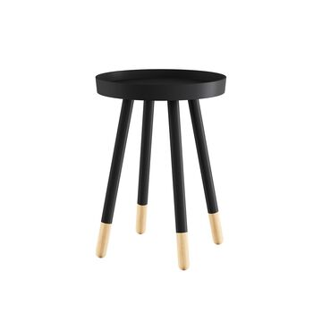 Lavish Home Round Two-Tone End Table