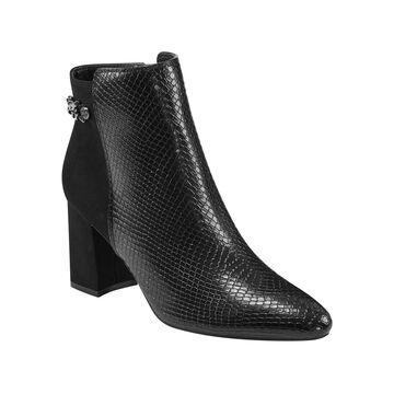 Bandolino Women's Birdi Block Heel Booties Women's Shoes