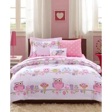 Mi Zone Kids Wise Wendy, White, 8-Pc. Reversible Full Comforter Set Bedding