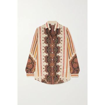 Etro - Printed Silk Shirt - Ivory