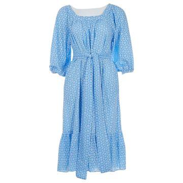 Lisa Marie Fernandez Blue Cotton Dresses