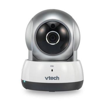 VTech VC931, Wireless IP HD Video Camera with Remote Pan & Tilt, Free Live Streaming, Infrared Night Vision, Silver