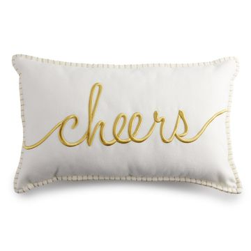 LC Lauren Conrad Cheers Throw Pillow
