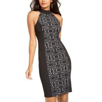 Thalia Sodi Mockneck Sheath Dress, Created For Macy's