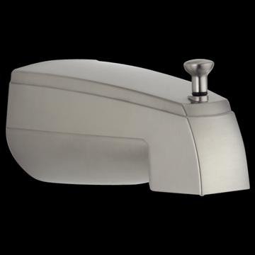 Delta Rizu: Tub Spout - Pull-Up Diverter
