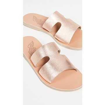 Ancient Greek Sandals Apteros Slide Sandals
