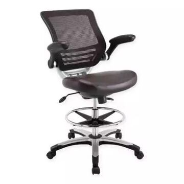 Modway Edge Drafting Chair in Brown