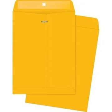 Business Source 32 lb Kraft Clasp Envelopes - Brown Kraft (Brown Kraft)