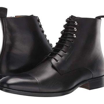 Mezlan Essen (Black) Men's Lace-up Boots