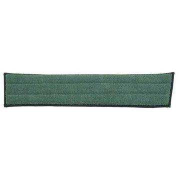 DIVERSEY 3345320 Microfiber Wet Pad, Green, Pk 5