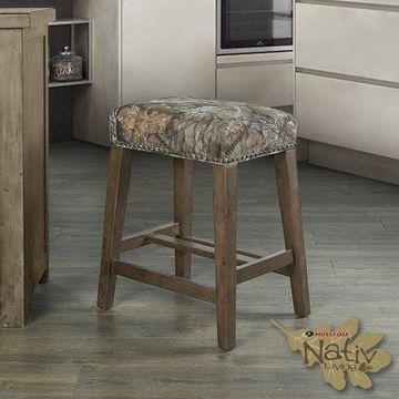 Linon Mossy Oak Nativ Living Backless Counter Stool