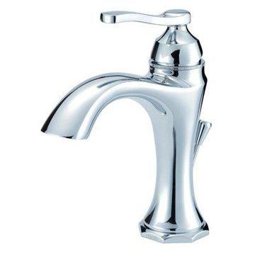 Danze Draper Single Handle Bathroom Faucet, Chrome