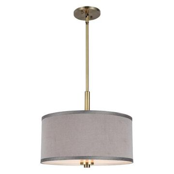 Woodbridge Lighting 13420-S11 Drum Pendant