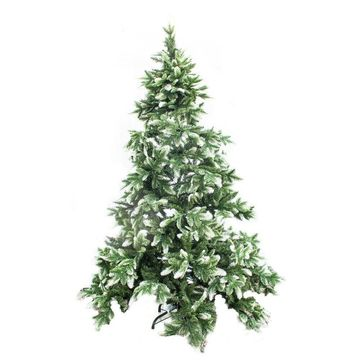 ALEKO Holiday Indoor Snow Dusted Artificial Christmas 7 Foot Tree