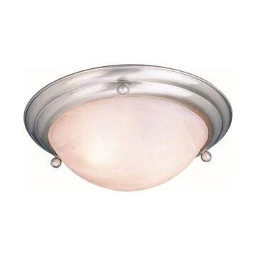 Volume Lighting Lunar 3-Light Flush Mount Ceiling Fixture