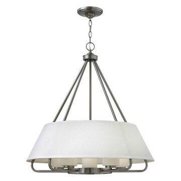 Hinkley Lighting 3955 Cole 5-Light Chandelier, Brushed Nickel