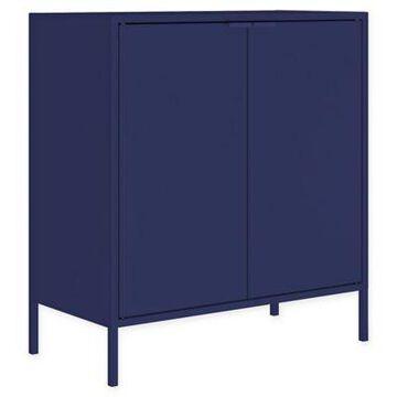 Manhattan Comfort Smart Cabinet in Blue