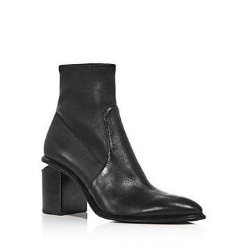 Alexander Wang Women's Anna Stretch Leather Booties