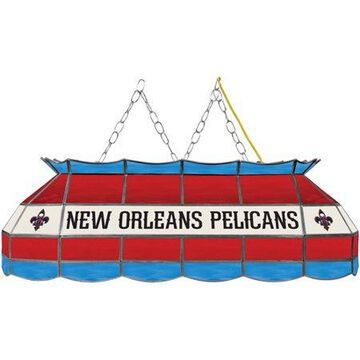 Trademark Gameroom New Orleans Pelicans NBA 40 inch Tiffany Style Lamp