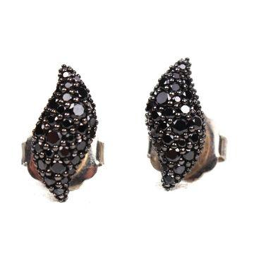 David Yurman Black Silver Ring