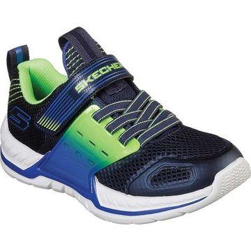 Skechers Boys' Nitrate 2.0 Sneaker Navy/Lime