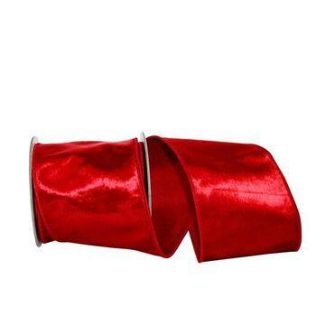 """JAM Paper 4"""" Plush Velvet Elite Wired Ribbon   4"""" x 5yd.   Michaels"""