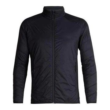 Icebreaker Men's Hyperia Lite Hybrid Long Sleeve Zip Jacket Black