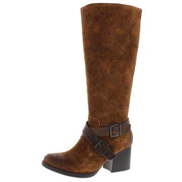B.O.C. Womens Dakota Riding Boots Suede Knee-High