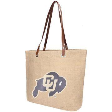 Colorado Buffaloes Little Earth Burlap Tote Bag