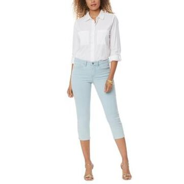 Nydj Chloe Cropped Tummy-Control Jeans