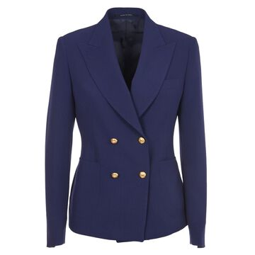 Tagliatore Blue Double-breasted Jacket