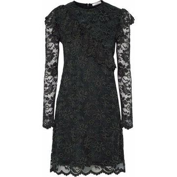 Ganni Flynn Lace Mini Dress