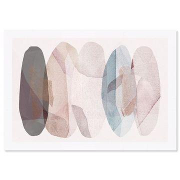 Oliver Gal 'Leaf Shower'Framed Art