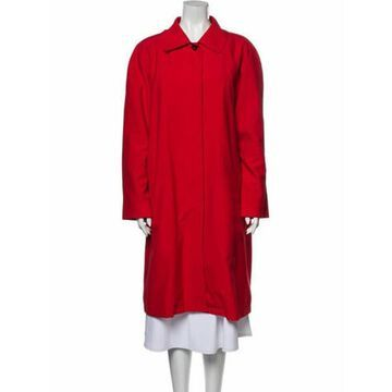 Trench Coat Red