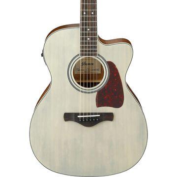Artwood Series AC320CEABL Solid Top Grand Concert Acoustic-Electric Guitar Blonde