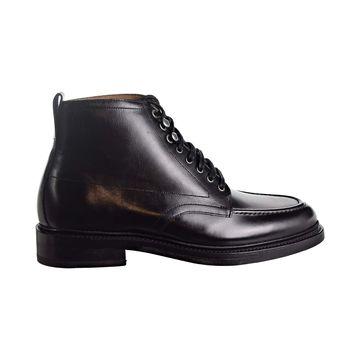 Bostonian Berkshire Moc Mens Black Leather Casual