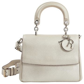 Dior Be Dior Silver Leather Handbags
