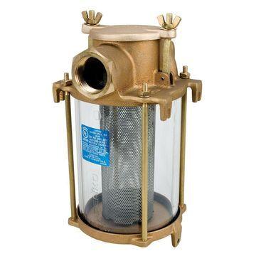 Perko Marine Boat 1inch IPS Intake Bronze Raw Sea Water Filter Basket Strainer