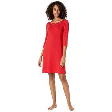 La Perla Layla Short Night Gown 3/4 Sleeves