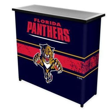 NHL Florida Panthers Portable Bar with Case