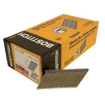 BOSTITCH S6D-FH Framing Nail, 2 In,PK2000