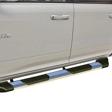 2013 GMC Sierra Rampage Xtremeline Running Boards in Stainless Steel