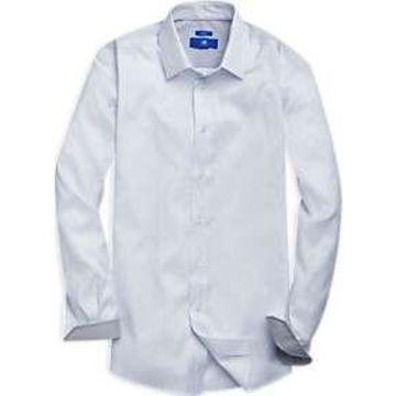 Egara White Paisley Sport Shirt