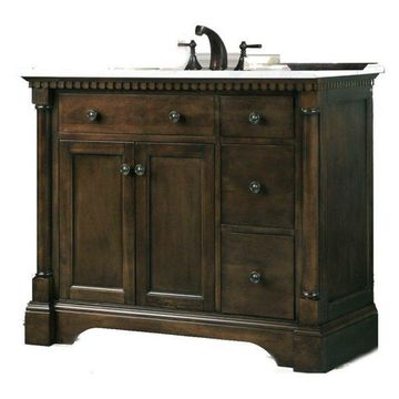 Legion Furniture Sink Vanity, Antique Coffee, 36