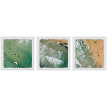 Marmont Hill - Handmade Waves Triptych