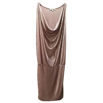 Cristinaeffe Pink Viscose Dresses