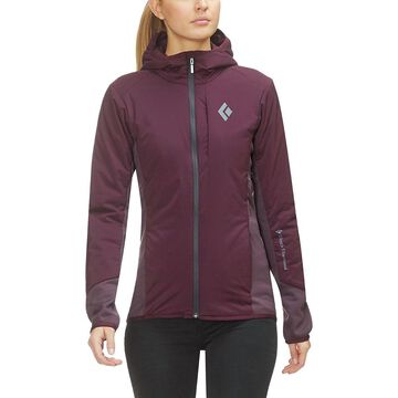 Black Diamond First Light Hybrid Hooded Jacket - Women's