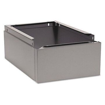 TENNSCO CLB-1218MG Optional Locker Base, 12w x 18d x 6h, Medium Gray